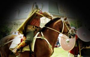 cavalier carolingien spectacle