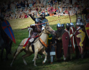 joute equestre spectacle chevalier