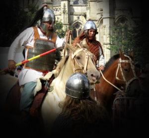 spectacle cavaliers merovingiens