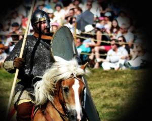 tournoi de chevalerie medievale
