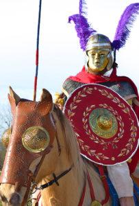 cavalerie empire romain spectacle gladiateurs