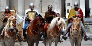 chevalier merovingien