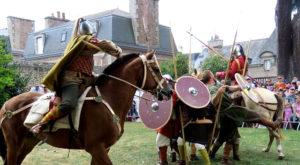 medieval carolingien spectacle