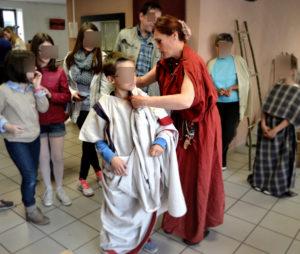 atelier textile gallo romain