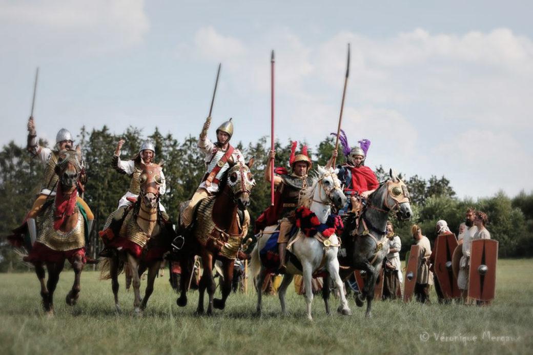 spectacle cavalerie gauloise